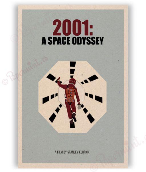 Póster de 2001: A space odyssey