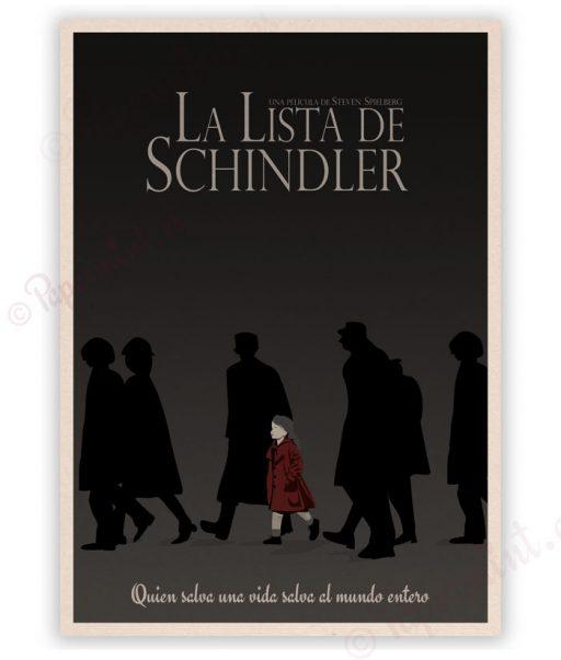 Lámina de La lista de Schindler