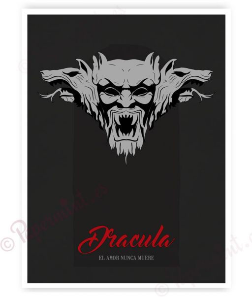 "Póster de ""Drácula"""