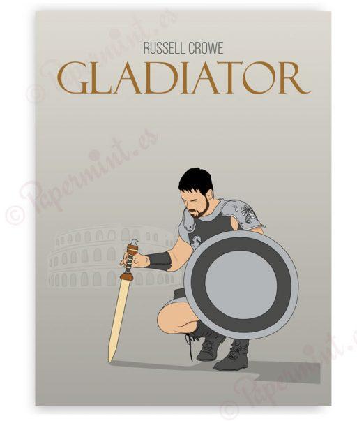 Póster personalizado de Gladiator