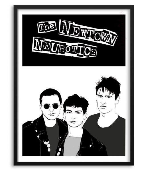 Póster The Newtown Neurotics