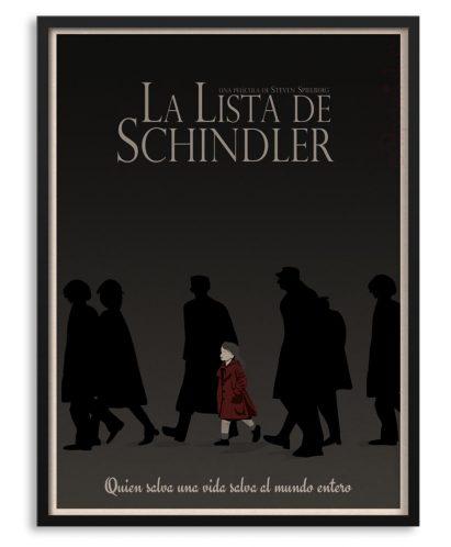 "Póster alternativo de ""La lista de Schindler"""