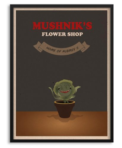"Póster ""little shop of horrors"""