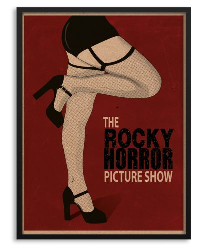 "Póster con marco de ""The Rocky Horror picture Show"""