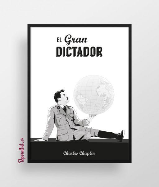 Cuadro cartel Charles Chaplin