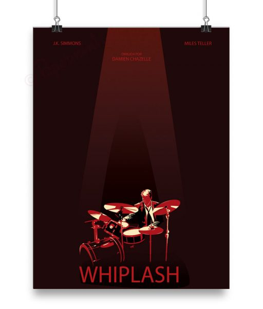 "Cartel personalizado de ""Whiplash"""