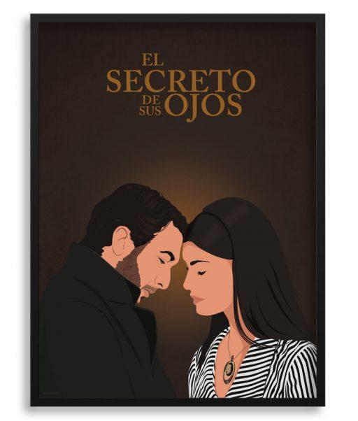 """Póster """"El secreto de sus ojos"""""""