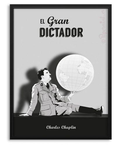 """Póster de """"El gran dictador"""""""