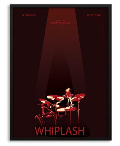Póster personalizado de Whiplash