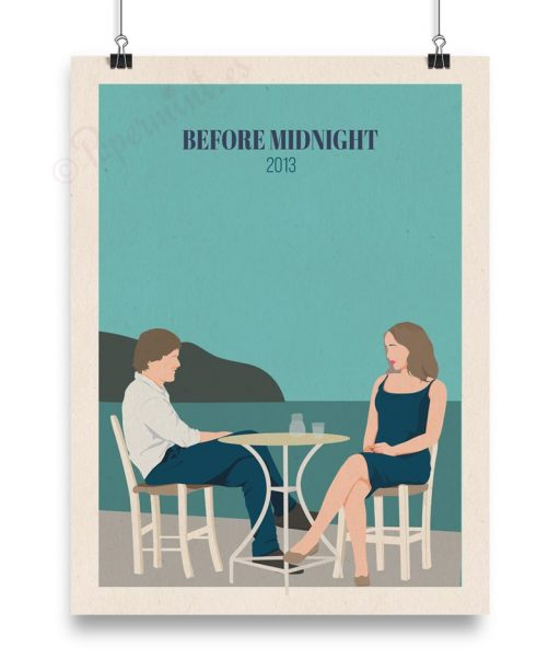 "Póster ""Before midnight"" título en inglés"