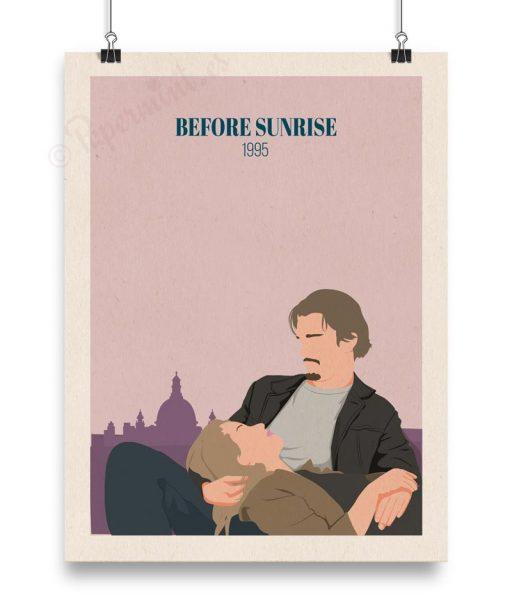 """Póster """"Before sunrise 1995"""""""