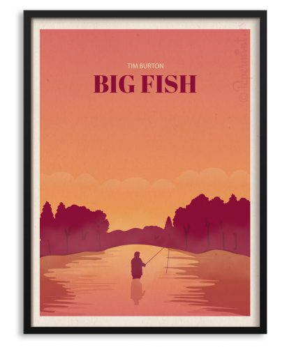 Póster de Big Fish de Tim Burton