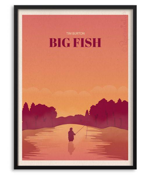 Póster de Big Fish de Tim Burton