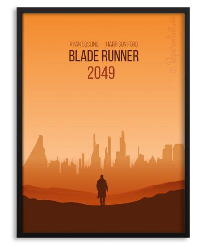 Póster de Blade Runner 2049 por Papermint
