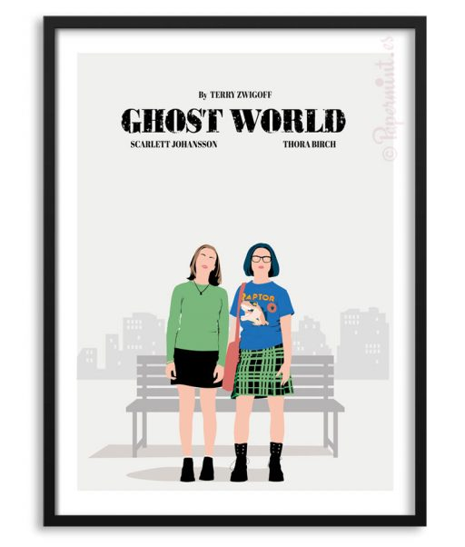 "Póster de ""Ghost World"" en PApermint"