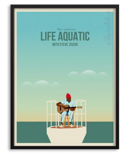 """Póster de """"Life Aquatic"""" personalizado"""