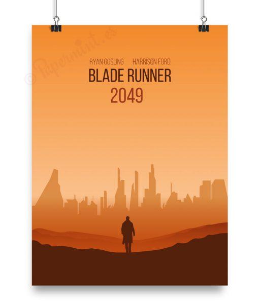 Cartel para personalizar de Blade Runner 2049