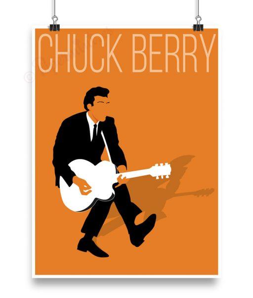 Lámina personalizada de Chuck Berry