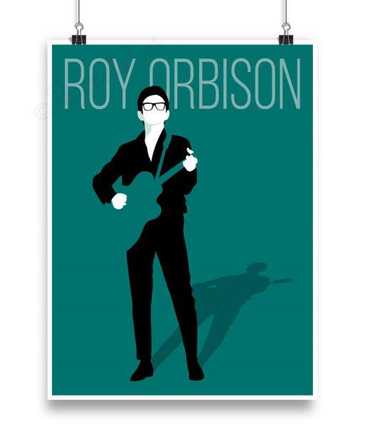Lámina de Roy Orbison personalizada.