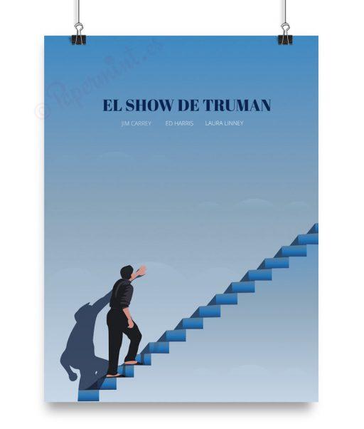 "Cartel alternativo de ""El Show de TRuman"" por Papermint"