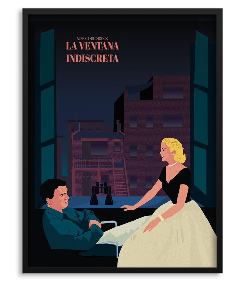 Poster La Ventana Indiscreta Rear Window Papermint