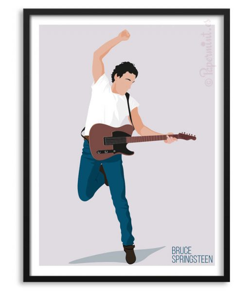 Póster de Bruce Springsteen, The Boss