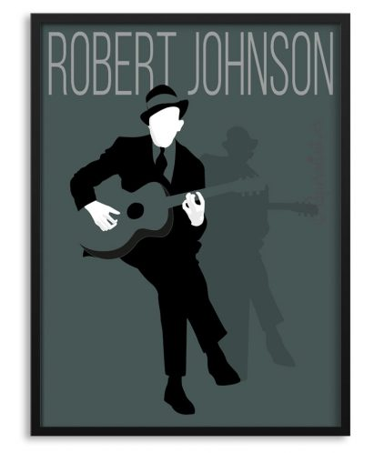 Póster de Robert Johnson.