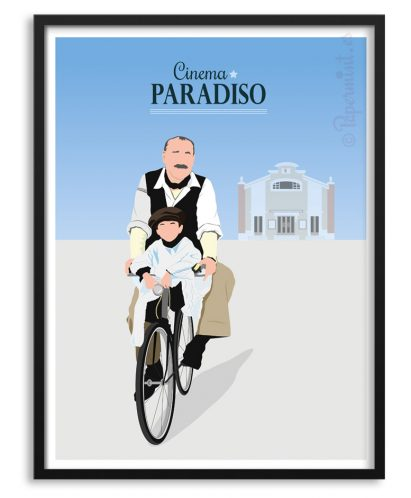 "Póster de ""Cinema Paradiso"" por Papermint"