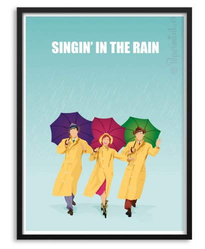 """Singin' in the rain"" Póster personalizado"
