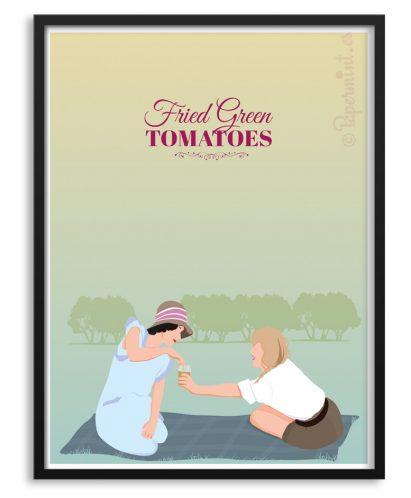 "Póster de ""Tomates verdes fritos"""