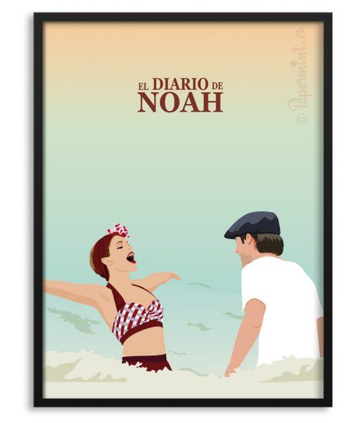 """Póster de """"El diario de Noah"""" por Papermint"""