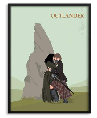 Póster serie Outlander