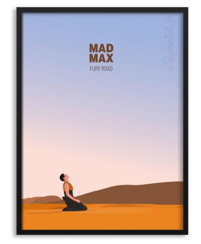 Póster de Mad Max Fury
