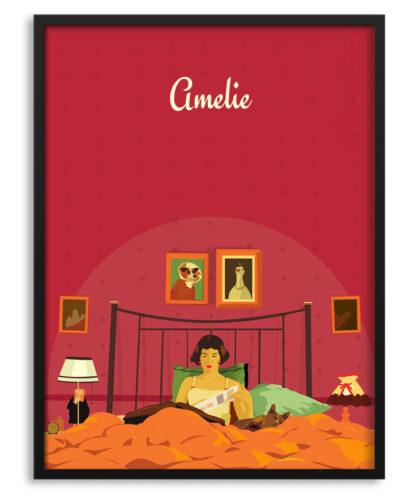 Póster de Amelie en su habitación
